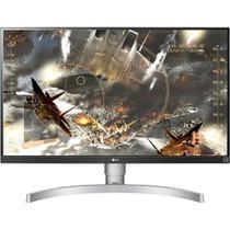 "Monitor LED 27"" LG IPS UltraHD 4K 27UL650 - Branco -"
