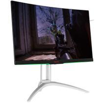 Monitor LED 27pol AOC Agon AG272QCX (WQHD, Curvo, 144Hz, HDMI, DP, VGA, USB, Áudio) -