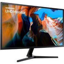 Monitor Led 32 Samsung Lu32j590uqlxzd Ultra Hd Cinza Escuro -
