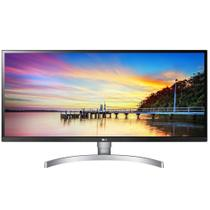 "Monitor LG Full HD UltraWide IPS LED 34"" Polegadas 21:9 HDR 2560x1080p Ajustável HDMI 34WK650-W"