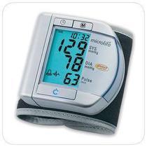 Monitor Microlife Digital de Pulso c/ Detector Arritima -