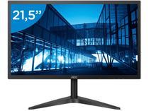 "Monitor para PC AOC B1 22B1H 21,5"" LED - Widescreen Full HD HDMI VGA"