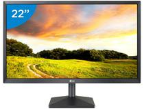 "Monitor para PC Full HD LG LED 22"" - 22MK400H-B"