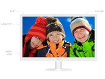 Monitor para PC Full HD Philips LCD Widescreen - 21,5