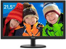 "Monitor para PC Full HD Philips LED Widescreen - 21,5"" V5 223V5LHSB2"