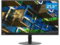 """Monitor para PC Lenovo ThinkVision 61C9KBR1BR - 21,5"""" LCD Widescreen Full HD HDMI VGA"""