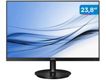 "Monitor para PC Philips Série V8 23,8"" LED - Widescreen Full HD HDMI VGA IPS"