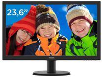 """Monitor para PC Philips V 243V5QHABA 23,6"""" - LCD Widescreen Full HD HDMI VGA"""