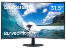 """Monitor para PC Samsung LC32T550FDLXZD 31,5"""" LED - Curvo Widescreen Full HD HDMI 75Hz 4ms -"""