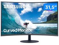 """Monitor para PC Samsung LC32T550FDLXZD 31,5"""" LED - Curvo Widescreen Full HD HDMI 75Hz 4ms"""