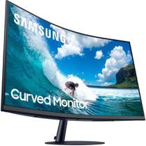 """Monitor Samsung 31,5"""" LED FULL HD Curvo 75HZ 4MS HDMI D-SUB Display PORT - LC32T550FDLXZD -"""