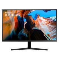 """Monitor Samsung 31,5"""" UHD LU32J590UQLXZD HDMI AMD Freesync Inclinação Ajustável Cinza Escuro -"""