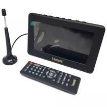 Monitor Tv Digital Portátil 9 Pol Led HD Tomate MTM-909 -
