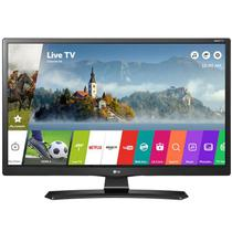 Monitor tv led 28 lg smart 28mt49s-ps wifi dtv hdmi/usb vesa preto -