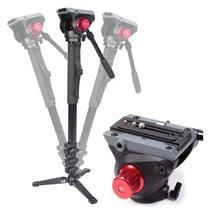 Monopé com Cabeça Fluida Câmera DSLR e Vídeo - Leadwin MKA-3424 - 1,88m -