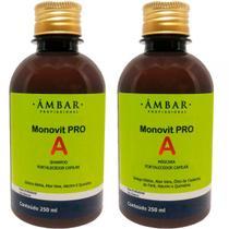 Monovit Pro A (shampoo e hidratação 250 ml) - Âmbar Profissional