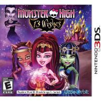 Monster High 13 Wishes - Nintendo