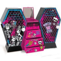 Monster High Armário Monstruoso Cofre Duplo - Fun Divirta-Se -
