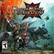 Monster Hunter Generations - 3Ds - Nintendo