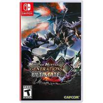 Monster Hunter Generations Ultimate Switch Midia Fisica -
