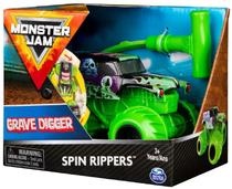 Monster Jam Spin Rippers Grave Digger 1:43 2023 - Sunny -