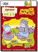 Monster practice - alphabet - age 3-5 - Collins -