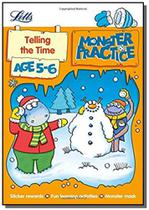 Monster practice - telling the time - age 5-6 - Collins -