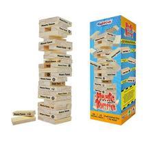 Monte Torre - Brinquedo de Madeira - 54 peças - Caixa Cartonada - Ciabrink -