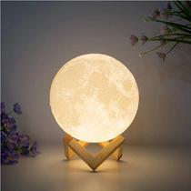 Moon Light - Luminária Lua Cheia Grande - On Line