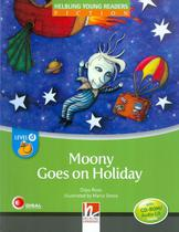 Moony goes on holiday - level d - Disal editora