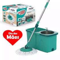 Mop Giratorio Pro Inox Com 2 Refis - Flash Limp - Flashlimp