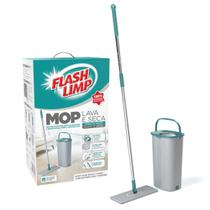 Mop Lava E Seca Com Balde Flashlimp -
