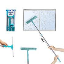 Mop Limpa vidro Multiuso Cabo extensível Janelas 2 refil - 123Útil