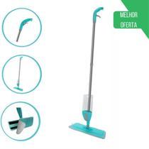 Mop Spray Esfregão Vassoura Com Reservatório + Refil Microfibra Boni -