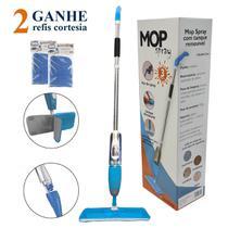 Mop Spray Esfregão Vassoura Mágica Com Reservatório + 3 Refis de Microfibra - Westing -
