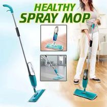 Mop Spray Reservatório Vassoura Esfregão Microfibra Limpeza Fácil - PenselarFun