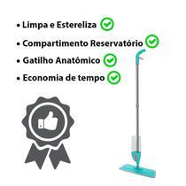 Mop Spray Rodo Magico Com Microfibra Limpa Chão Pó - 123 Util