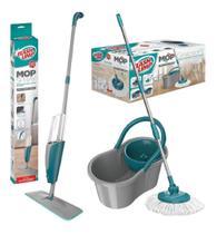 Mop spray rodo mop7800 flashlimp + esfregão mop fit mop5010 - Cds