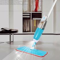 Mop Spray Rodo Vassoura Limpeza Magica Esfregao Microfibra Pad com Reservatorio -