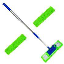 Mop tira pó microfibra 60 Cm Com 2 Refis Extras - Vendasshop utensilios de limpeza