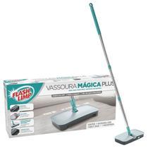Mop Vassoura Magica Plus Flash Limp 360 Giratorio 7245 -