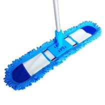 Mop Vassoura Microfibra 60 Cm Flexível Tira Pó Limpeza a Seco - Vendasshop utensilios de limpeza