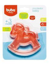 Mordedor Bebê com Água Cavalinho Vermelho Buba - Buba toys