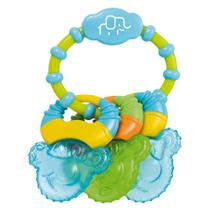 Mordedor Com Gel Cool Rings Azul Multikids Baby - BB150 - Multikidsbaby