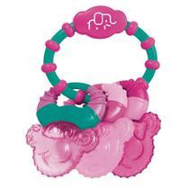Mordedor Com Gel Cool Rings Rosa Multikids Baby - BB167 - Multikidsbaby