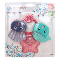 Mordedor Multikids Baby Sea Friends Menina -