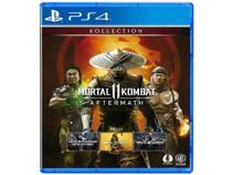 Mortal Kombat 11: Aftermath para PS4 - WB Games Lançamento -