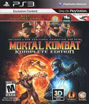 Mortal Kombat - Komplete Edition - PS3 - Easports