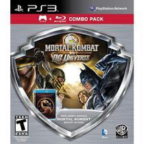 Mortal Kombat Vs Dc Universe Silver - Ps3 - Sony