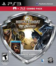 Mortal kombat vs dc universe silver shield combo pack - ps3 - Midway